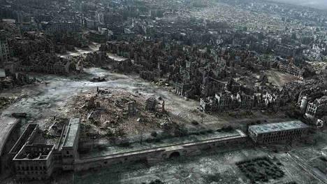 Una imagen de archivo de Varsovia tras la II Guerra Mundial. (AP)