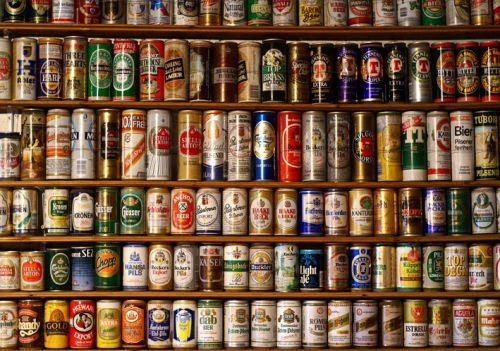 Sentimientos encontrados- Latas de cerveza y gasesosa-Adri Bosch