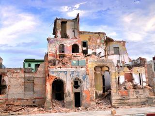 La bomba que cayó en Cuba