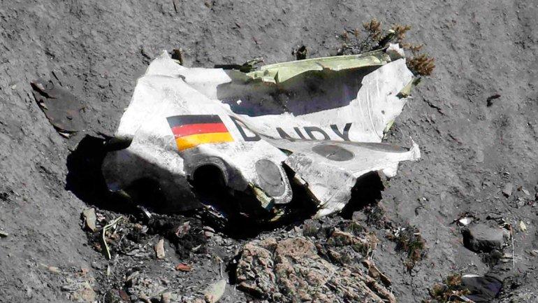 Un pasajero alcanzó a hacer un video de los últimos segundos del vuelo de Germanwings