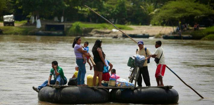 En seis meses murieron 16 migrantes al tratar de cruzar el río Bravo