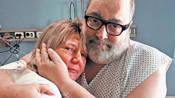 El emotivo encuentro de Lanata con la mujer que le donó el riñón