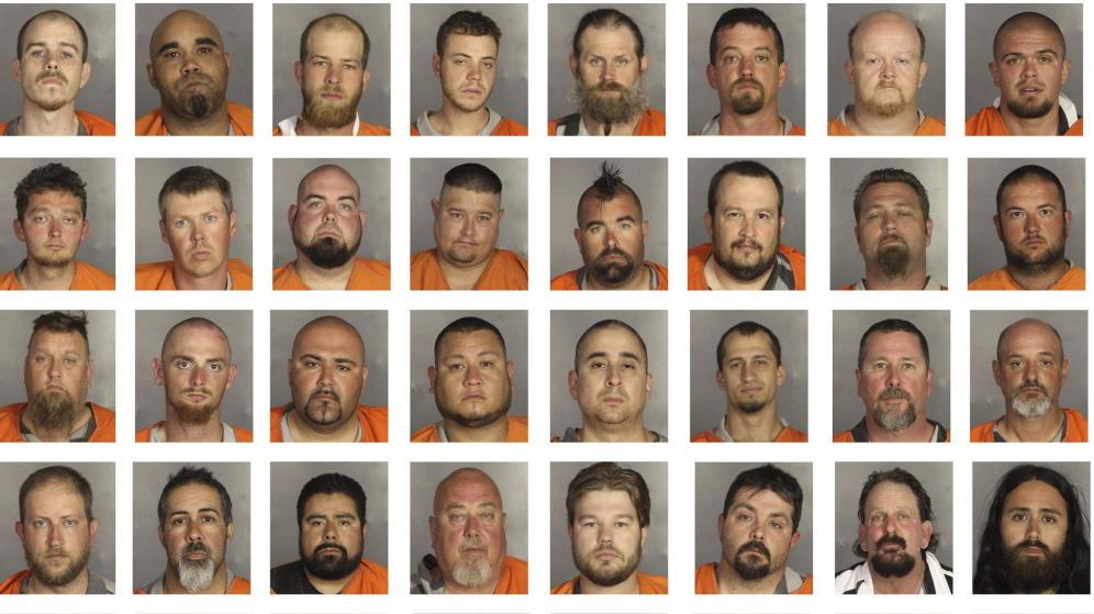 Moteros con AK-47: la cultura proscrita de las pandillas americanas.