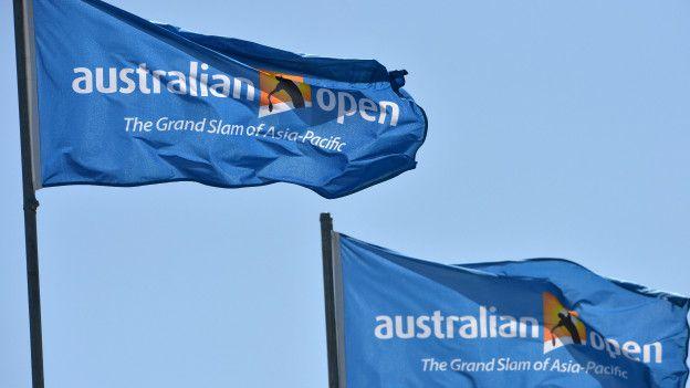 Banderas del Torneo Abierto de Australia