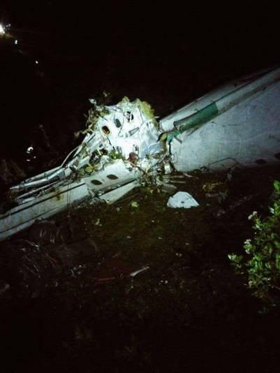 El avión, de la empresa Lamia, se accidentó en el Cerro Gordo, en jurisdicción del municipio La Unión, departamento de Antioquia,