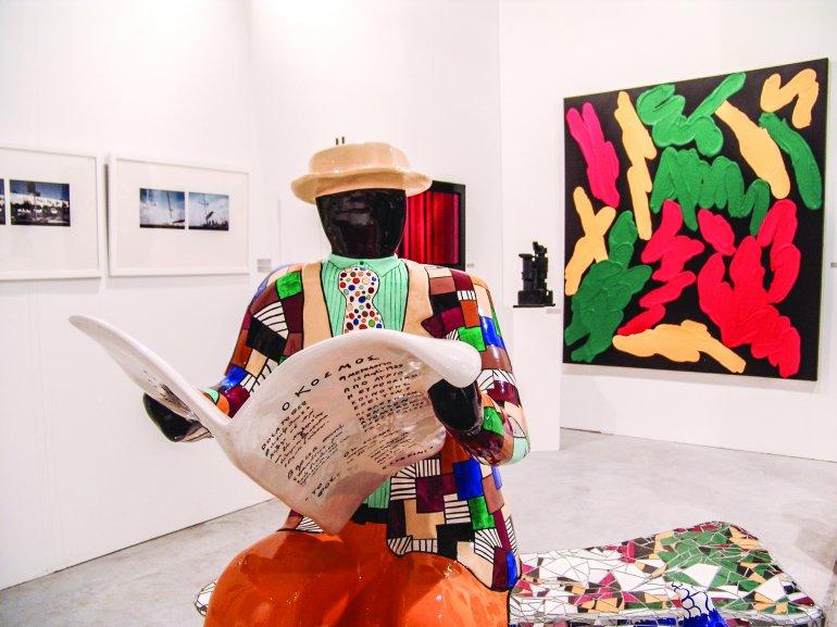 ArtBasel Miami Beach apuesta por el arte emergente sugestivo.