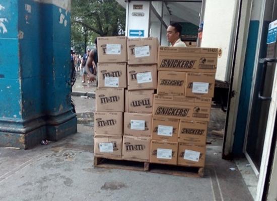 Confituras importadas para la tienda Isla de Cuba (Foto: Ana León)