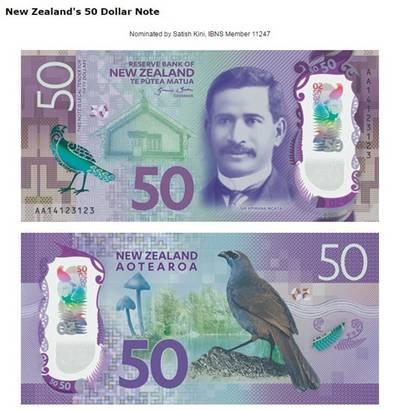 El de 50 dólares de Nueva Zelanda