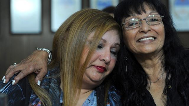 """""""Tenemos mucho que hablar del pasado pero mucho más que proyectar hacia el futuro. Yo era hija única y ahora tengo cuatro hermanos, ocho sobrinos, hasta soy tía abuela"""", dijo Marisa"""