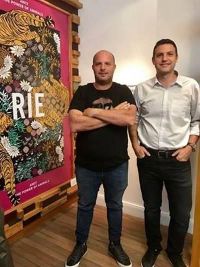 Hernán y Gustavo Gleizor, de Ríe
