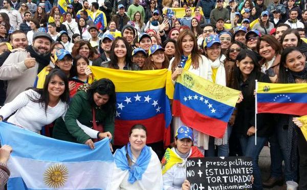 Venezuela en las calles de Buenos Aires, por el Dr.Francisco Bénard