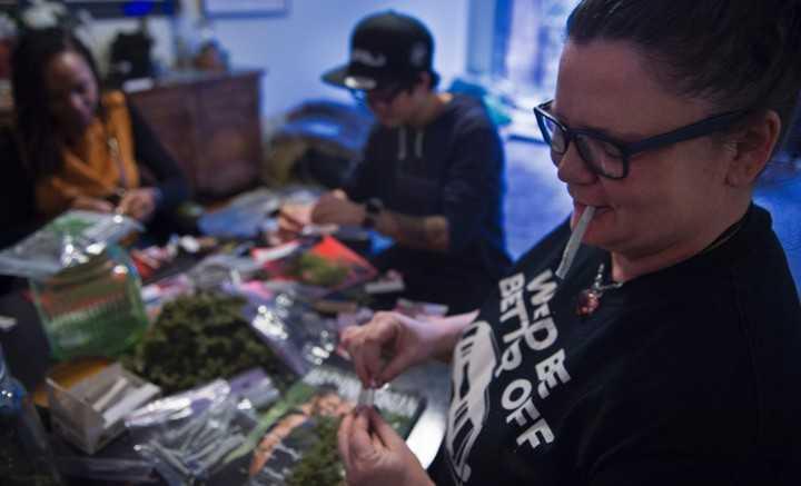 Los críticos de Donald Trump distribuirán marihuana durante su investidura