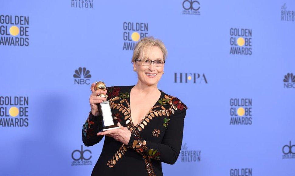Resultado de imagen para Hollywood se vuelca con el discurso de Meryl Streep frente a Donald Trump