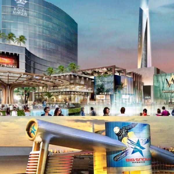 Además del espacio destinado para compras, American Dream albergará hoteles, residencias privadas y un parque temático para ofrecer una experiencia integral a los millones de turistas y locales que se espera visiten la propuesta