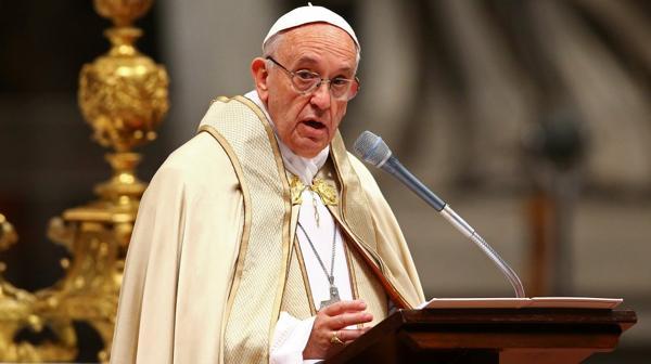 Quitan la cara del papa Francisco de las monedas de euro