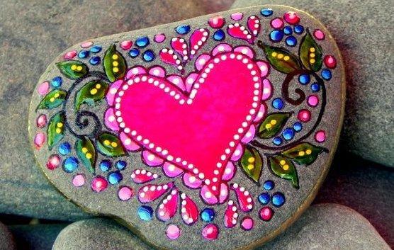 piedra corazón