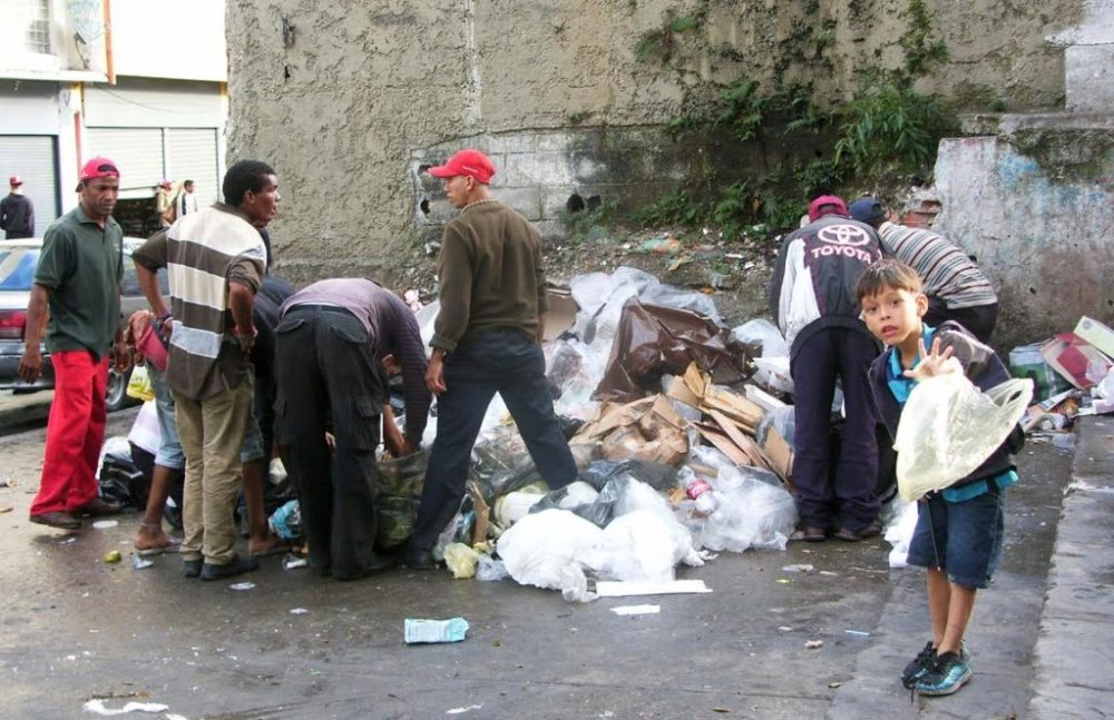 Recorrido por el centro de Caracas.