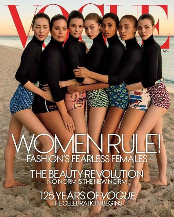 La portada de Vogue de marzo que generó polémica