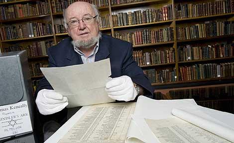 Una de las copias de la célebre lista en la biblioteca de Nueva Gales del Sur. | Afp