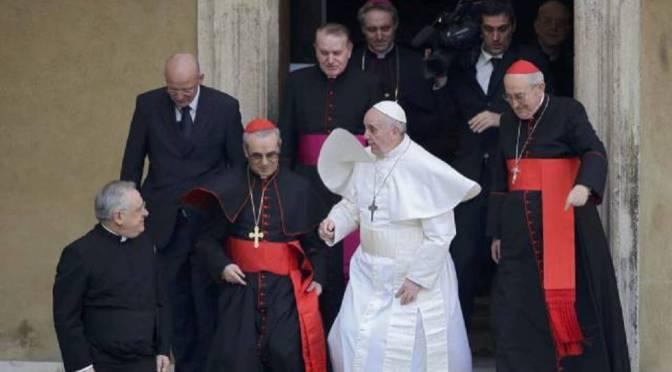 Opinión-Papa: ¿Y si Francisco fuera un impostor? | EL PAÍS