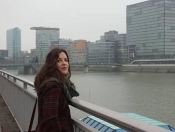 Arantxa Alba en Dusseldorf (Alemania).