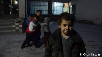 Niños adictos a la droga en Afganistán.