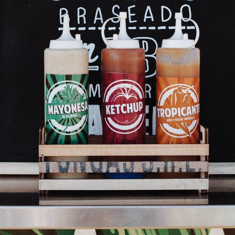 Salsas Mayonesa Ketchup Tropicante