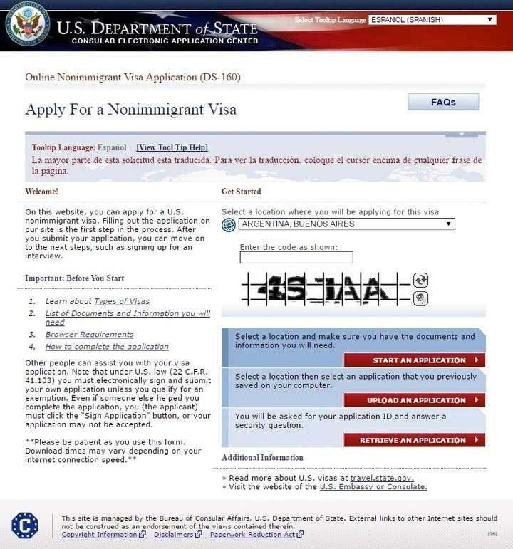 Visa para Estados Unidos: cómo tramitar su obtención en Argentina