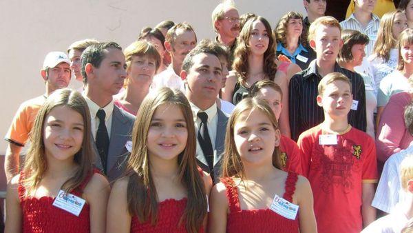 Cada año, en Candido Godoi, se reúnen todos los gemelos del pueblo