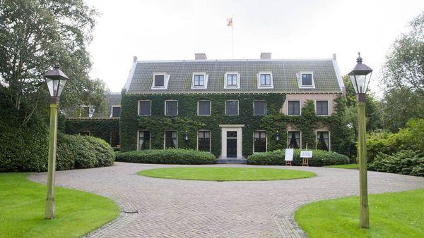 En la Villa Eikenhorst se hospedará el matrimonio argentino durante todo el fin de semana