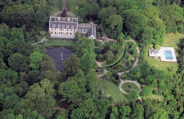 La mansión de la familia real holandesa está rodeada por 450 hectáreas de bosque