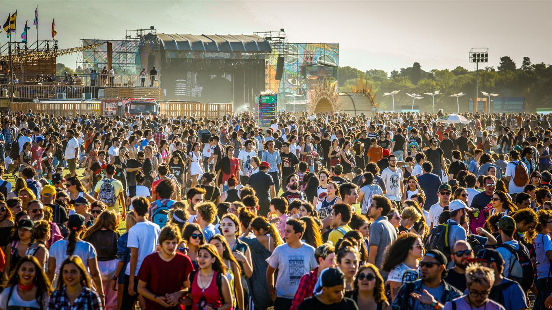 El público del Lollapalooza. Foto: LA NACION / Rodrigo Néspolo