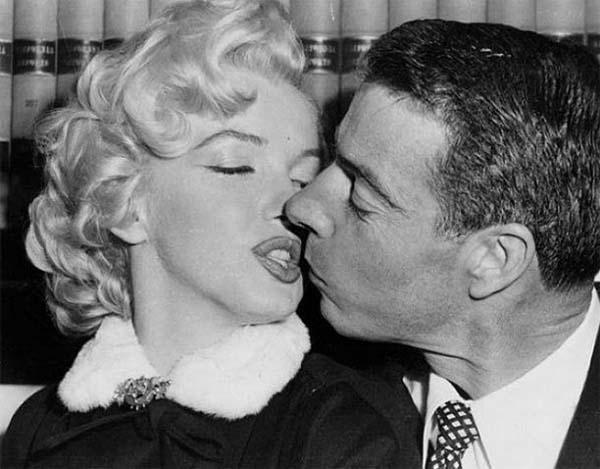 DiMaggio y Marilyn