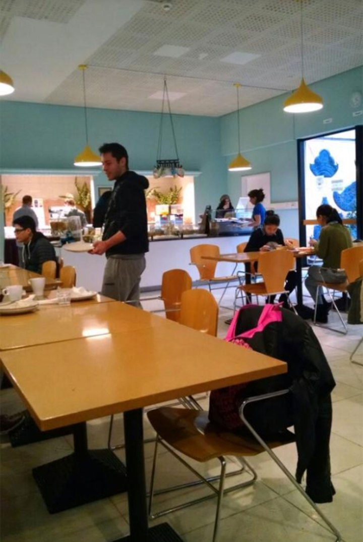 El comedor del City Hostel Berlin (TripAdvisor)