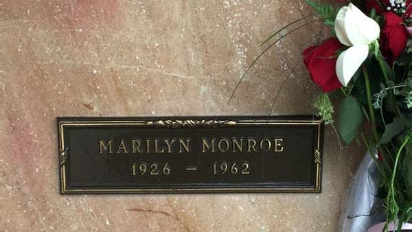 Marilyn Monroe tumba