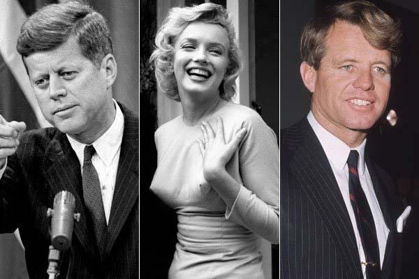 Marilyn Monroe y los Kennedy