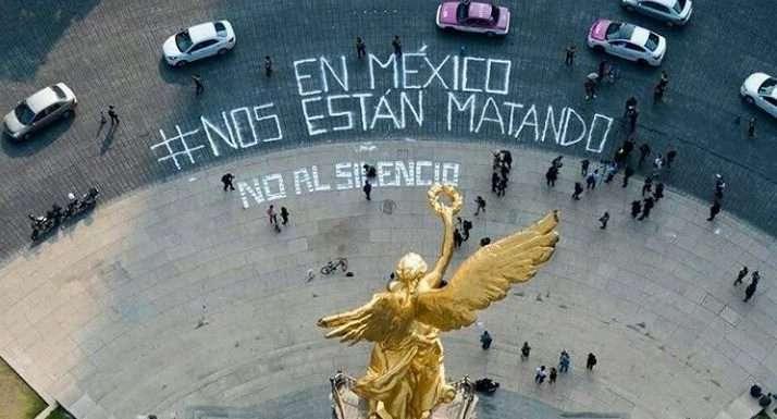 #NosEstánMatando, periodistas mexicanos protestan en variosestados