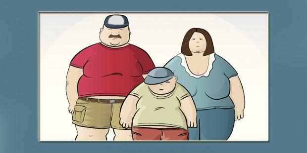 Obesos portada