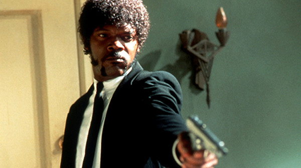 Samuel L Jackson en Pulp Fiction