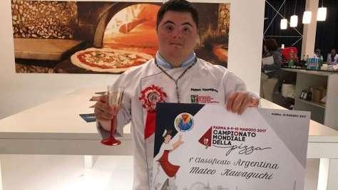 Con la mano maestra de Mateo, Argentina hizo historia en el Mundial de la Pizza