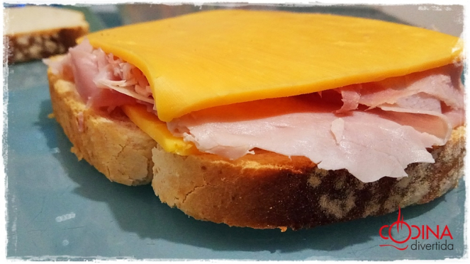 sandwich mixto huevo el mejor del mundo