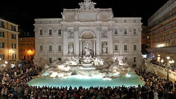 Nadie podrá detenerse frente a la Fontana di Trevi