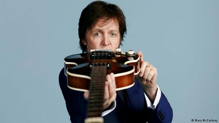 DW Sendung Popxport Paul McCartney (Mary McCartney)