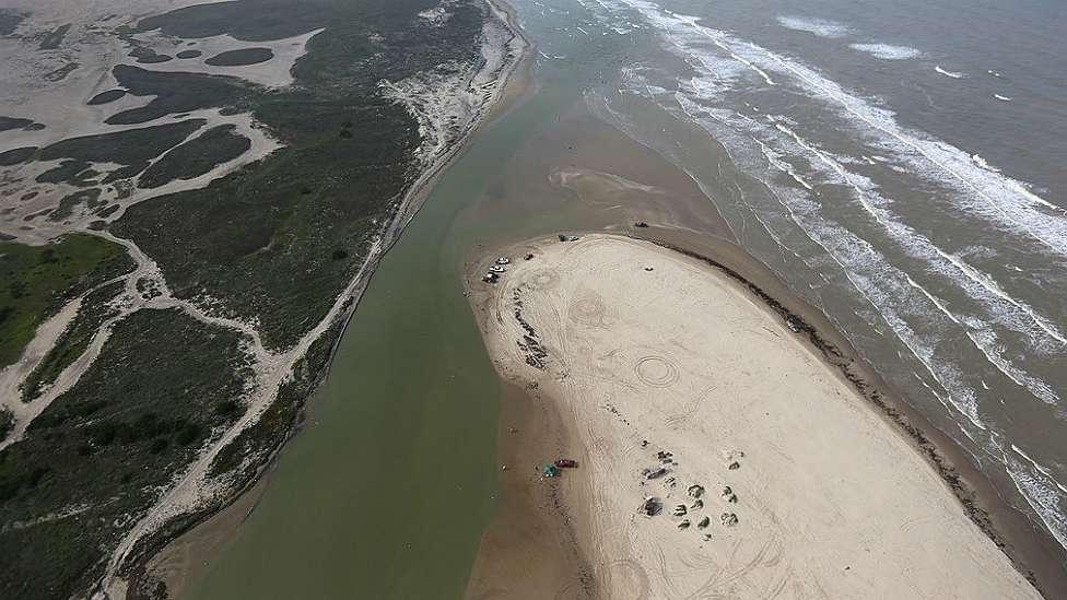 Playa Bagdad: el extraño lugar donde empieza la frontera entre México yEEUU