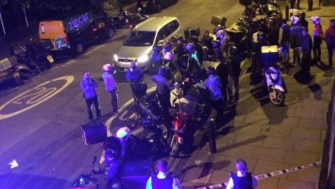 Epidemia de ataques con ácido en Londres