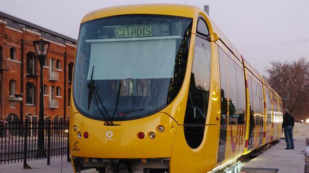 El tranvía de Puerto Madero