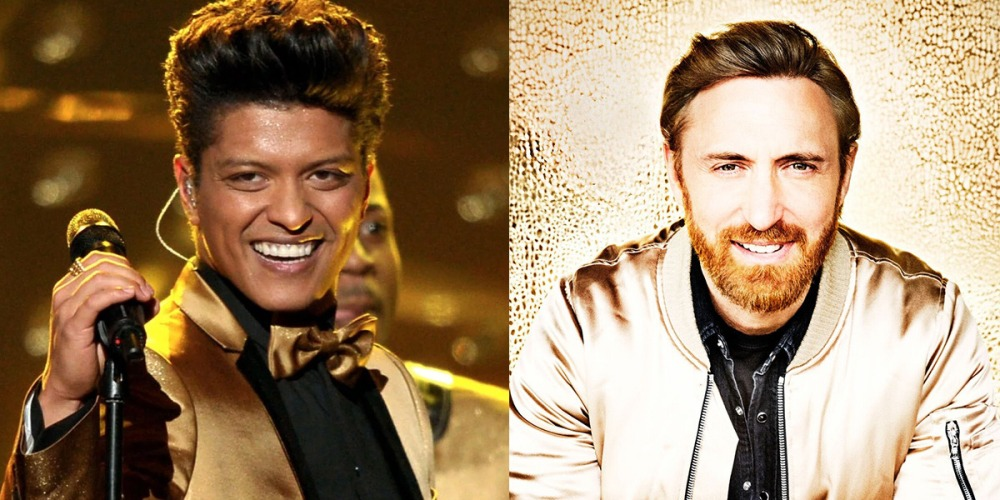 Daid Guetta hace el remix de 'Versace on the floor' de Bruno Mars