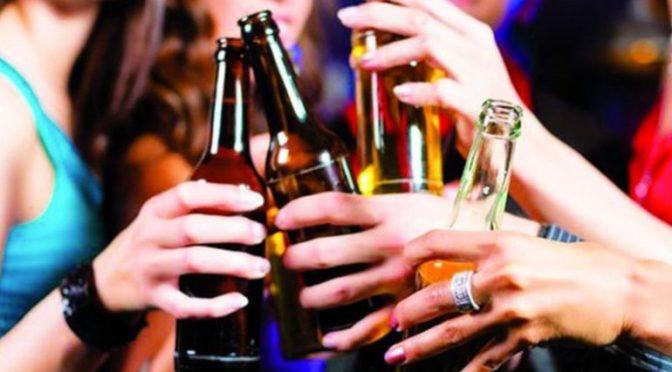 Así beben alcohol los jóvenes españoles:ingesta muy violenta e intensa en poco tiempo