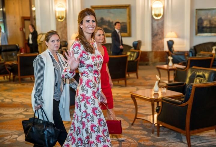 Quién es la diseñadora del vestido que usó Juliana Awada en Hamburgo
