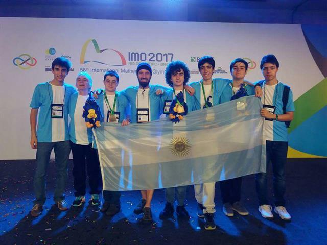La delegación argentina en Río